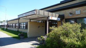 Hälsovårdscentralen i Kristinestad.