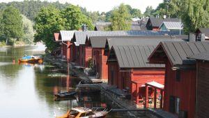 Strandbodar i Borgå