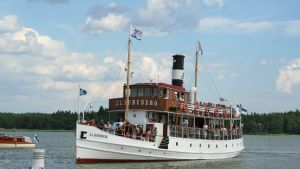J.L. Runeberg anlöper lovisa hamn