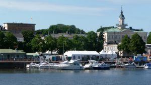 Åstranden i Björneborg är estraden för både Pori Jazz och SuomiAreena.