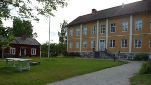 Rosenlunds Prästgård, vy