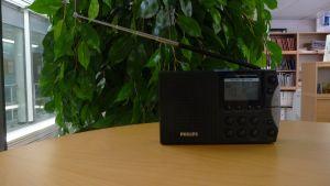 En radioapparat