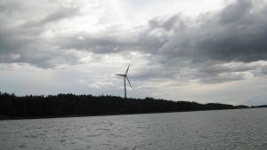 Vindmöllan i Barösund