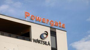 Wärtsilä. Powergate i Runsor.