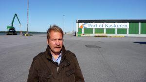 Timo Onnela, hamnkapten i Kaskö