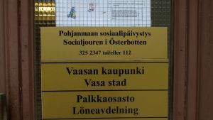 Socialjouren i Österbotten.