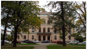 Vasa övningsskolas gymnasium.