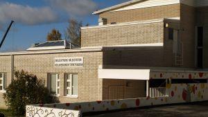 Skolcentrums hälsostation i Korsholm.