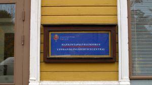 Upphandlingsservicecentralen i Vasa.