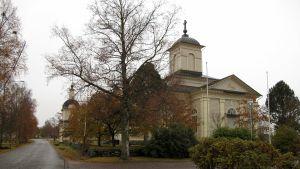 Kyrkan i Korsnäs.