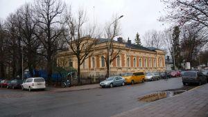 Ärkebiskopens residens i Åbo vid Biskopsgatan