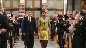 Barack och Michelle Obama