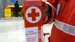 Röda korsets Insamlingsbössa