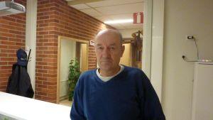 Sven Holmberg är ordförande för Raseborgs skyttar