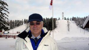 Matti Sundberg, ordförande för Finlands skidförbund