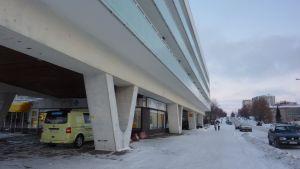 Arkitekten Viljo Revell har ritat huset i Hangö.