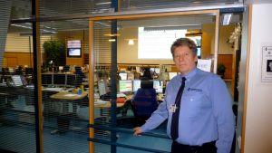 Kai Paldanius, kommunikationschef för Österbottens nödcentral.