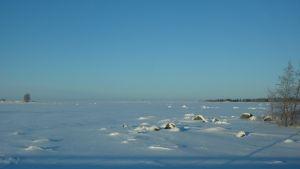 Fin vinterdag i Södra Vallgrund.