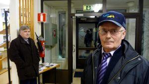 Fick ändring till stånd. Tor-Erik Hägg och Helge Nygård röstade bägge för en fusion av Oravais och Vörå-Maxmo.