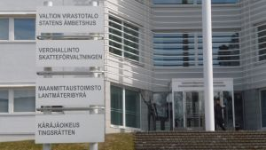 Statens ämbetshus i Karleby