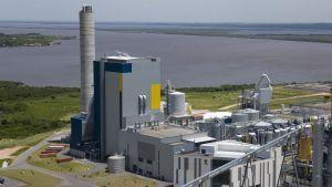 UPM:s cellululafabrik i Uruguay