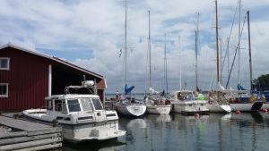 Gästhamnen på Helsingholm hör till de mest omtyckta i hela Finland
