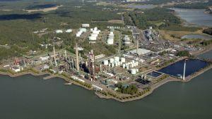 Neste Oils raffinaderi i Nådendal