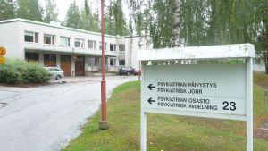 psykavdelningen vid borgå sjukhus