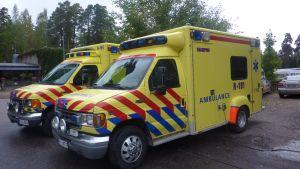 Ekenäs sjuktransports ambulanser