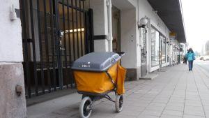 Posten i Åbo står stilla