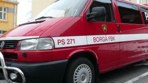 borgå fbk:s brandbil