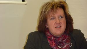 Ulrica Karp, direktör för Svenska Österbottens förbund för utbildning och kultur.