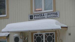 Kommunbyrån i Pyttis.