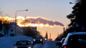 Etelä-Pohjanmaan Voimas kraftverk i Vasa.