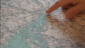 Viborg på kartan