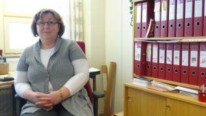 Stina-Britt Gullqvist är barnomsorgsledare i Malax
