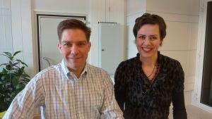 Thomas Blomqvist och Maarit Feldt-Ranta