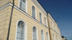 Borgå gymnasium vintertid