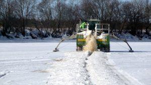 Issågning på Kyro älv
