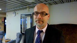 Tauno Kekäle, rektor för Vasa yrkeshögskola.