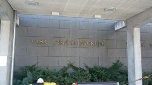 Vasa Centralsjuhus huvudingång