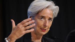 Frankrikes finansminister Christine Lagarde