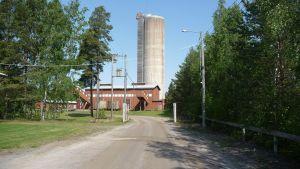Det 45 meter höga gruvtornet kan få en panoramahiss.