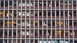 Bomben i Oslo slog ut ett stort antal fönster
