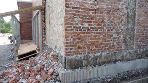 Renoveringen av Kvarnbackens skola i Borgå
