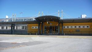 Entré vid flygplatsen i Kronoby
