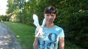 Martina Linder från Cirkus Helsinki.