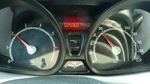 hastighetsmätare i bil