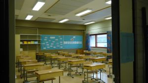 Snart fylls klassrummet av förväntansfulla ettor!
