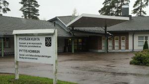 Social- och hälsovårdsavdelningen i Pyttis.